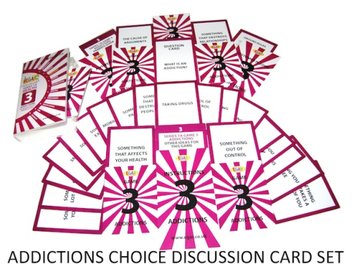 Discussion cards ADDICTIONS (4TS-DC3)