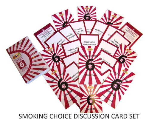 Discussion cards SMOKING (4TS-DC6)