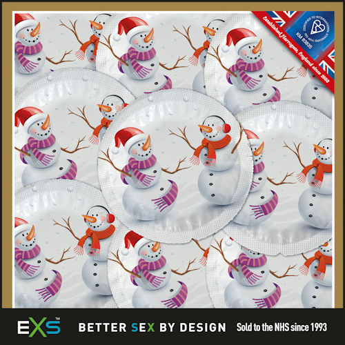 Christmas Themed condoms - 25 pack