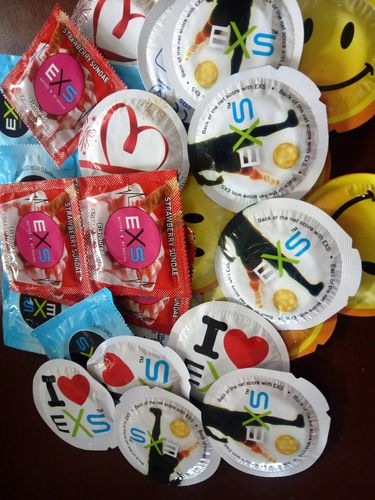 Assorted Condoms pack 100 (4TS-CCPC)