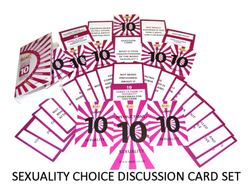 Discussion cards on SEXUALITY (4TS-DC10)