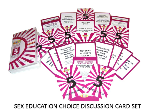 Discussion cards on SEX EDUCATION (4TS-DC5)