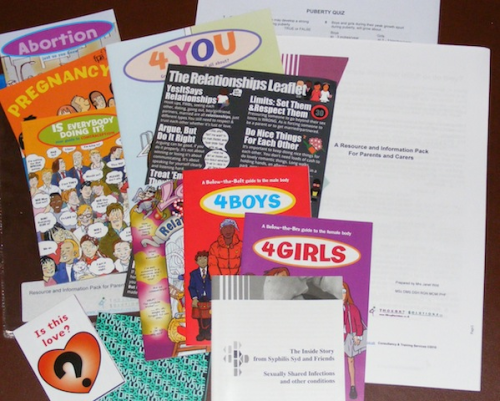 4TS - Sexual Health Resources Pack (4TS-SHRP1)