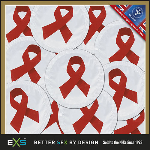 EXS Red Ribbon Condoms 25 pack